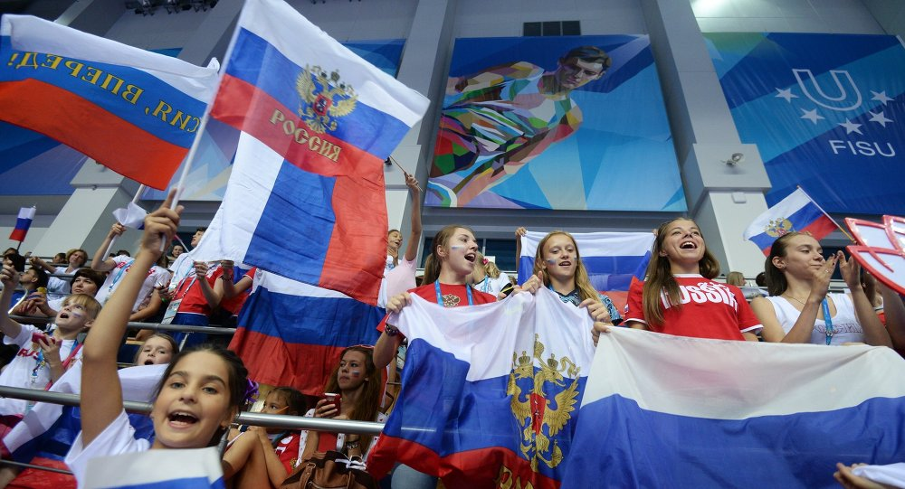 Supporters russes