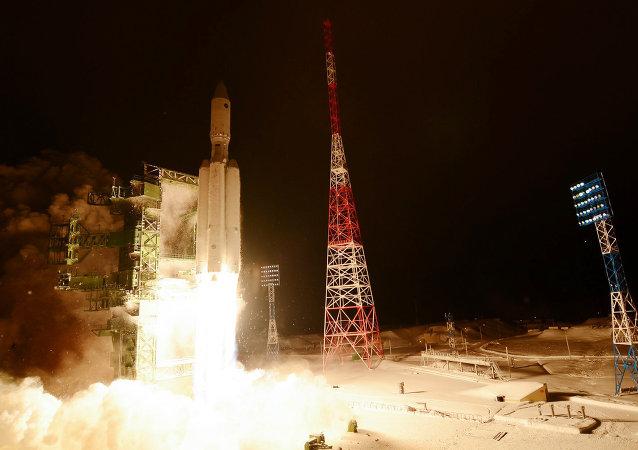 Premier tir du lanceur lourd russe Angara-A5