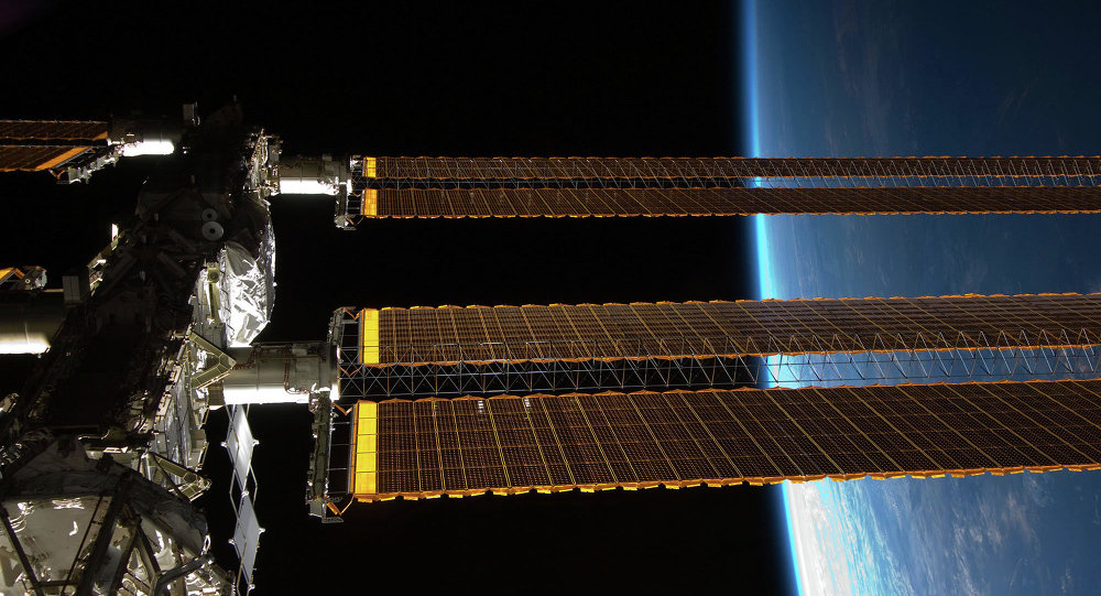 Station spatiale internationale (ISS). Archive photo