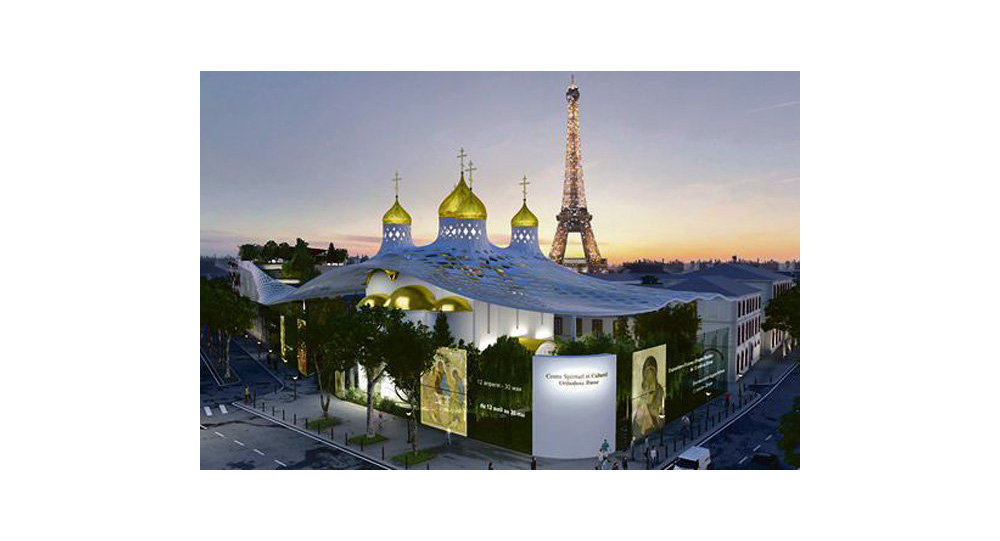 La Russie lance le financement de son centre culturel à Paris