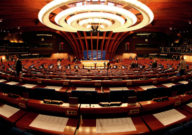 L'Assemblée parlementaire du Conseil de l'Europe
