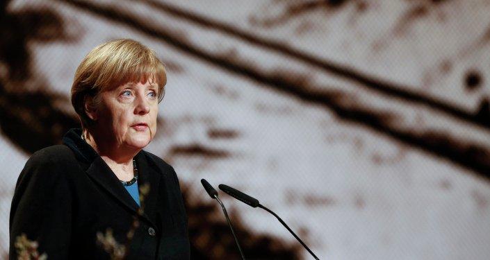Angela Merkel, chancelière de l'Allemagne