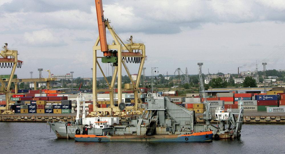 Le port de Riga (photo d'archives)