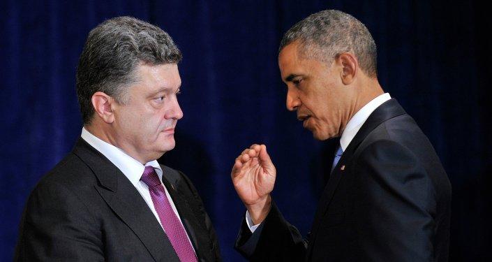Obama et Porochenko
