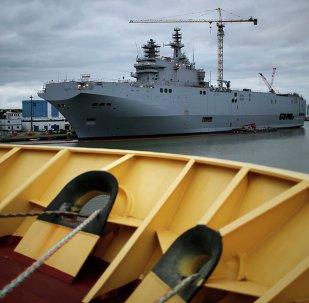 Le Vladivostok et le Sébastopol à Saint-Nazaire