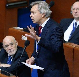 Alexeï Pouckov à la session de l'APCE