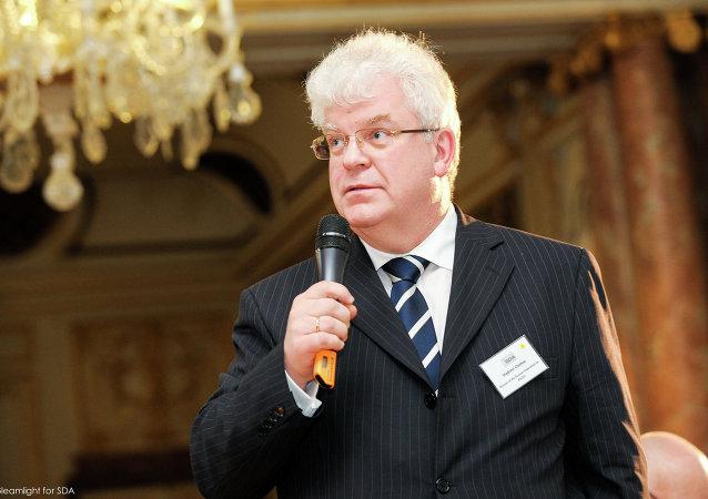 le délégué permanent russe auprès de l'UE Vladimir Tchijov