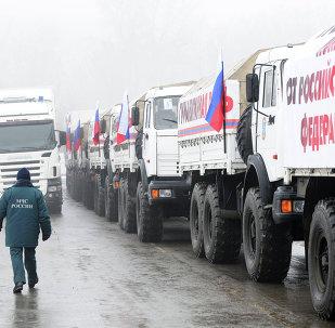 Девятый российский гуманитарный конвой для Донбасса формируется в Ростовской области