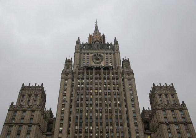 Le ministre des Affaires étrangères de Russie