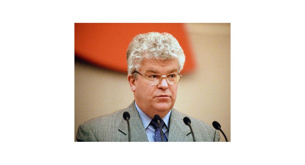 Ambassadeur russe auprès de l'Union européenne Vladimir Tchijov