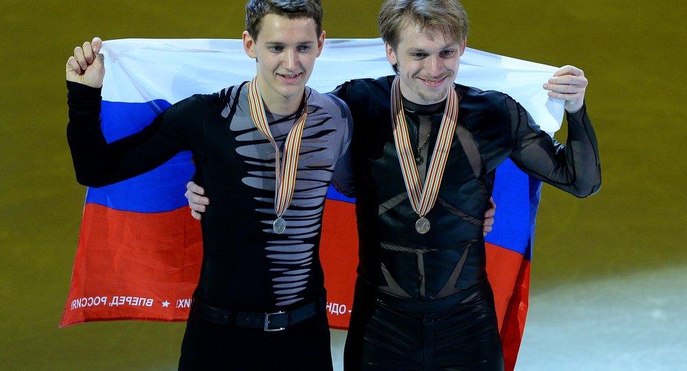 Maksim Kovtun et Sergey Voronov