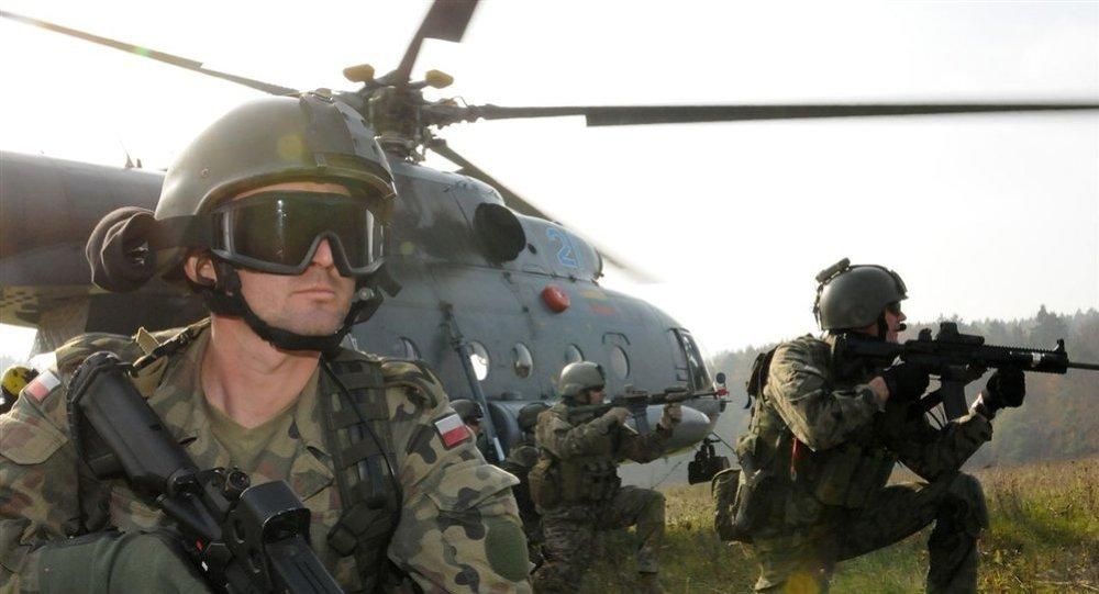 Soldats polonais lors d'exercices de l'OTAN