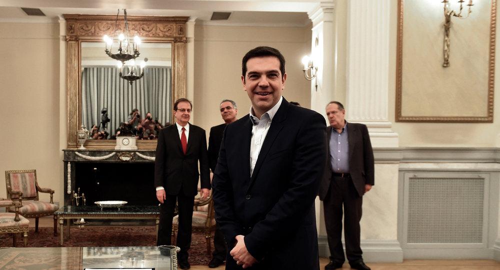 Alexis Tsipras, leader du parti Syriza