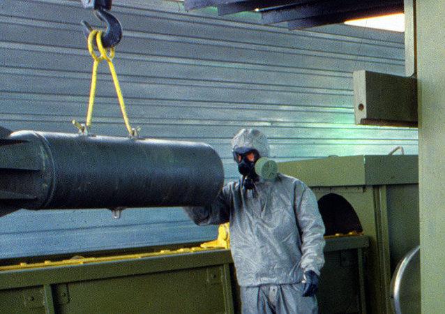 Le démantèlement des arsenaux chimiques