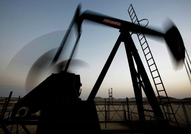 Un site pétrolier