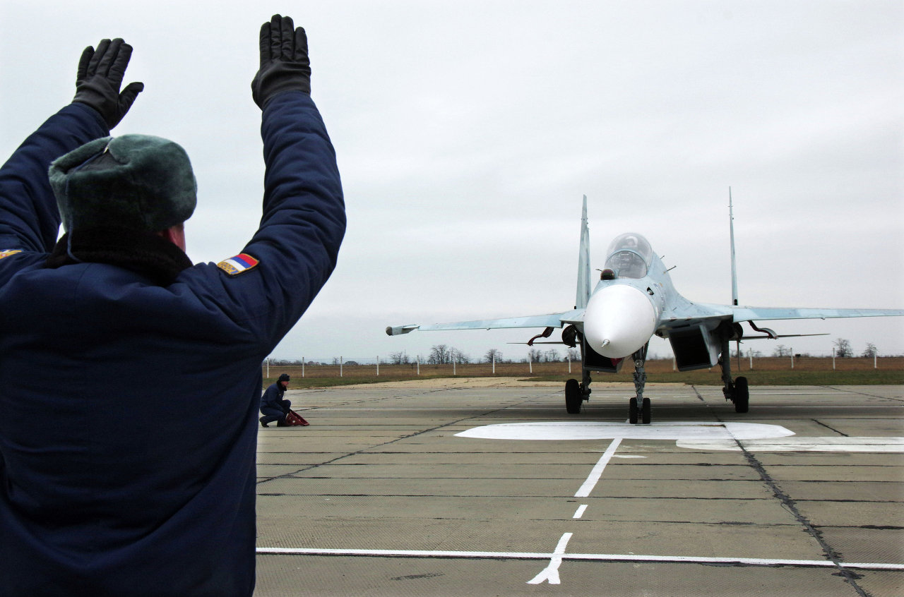 Des chasseurs russes déployés en Crimée