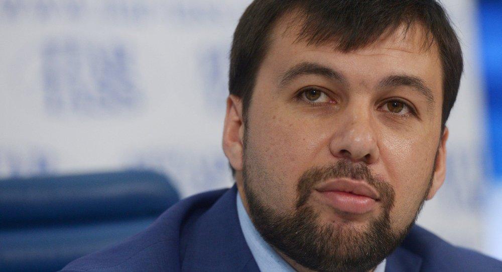 Denis Pouchiline, négociateur de la République populaire de Donetsk à Minsk