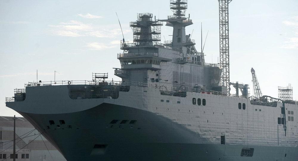 Un deuxième BPC Mistral commandé par la Russie, le Sébastopol, à Saint-Nazaire