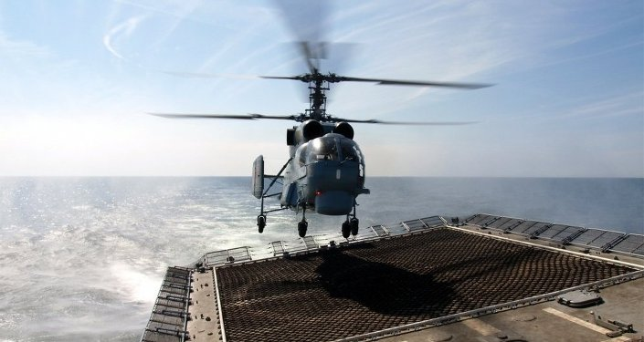 Hélicoptère Ka-27