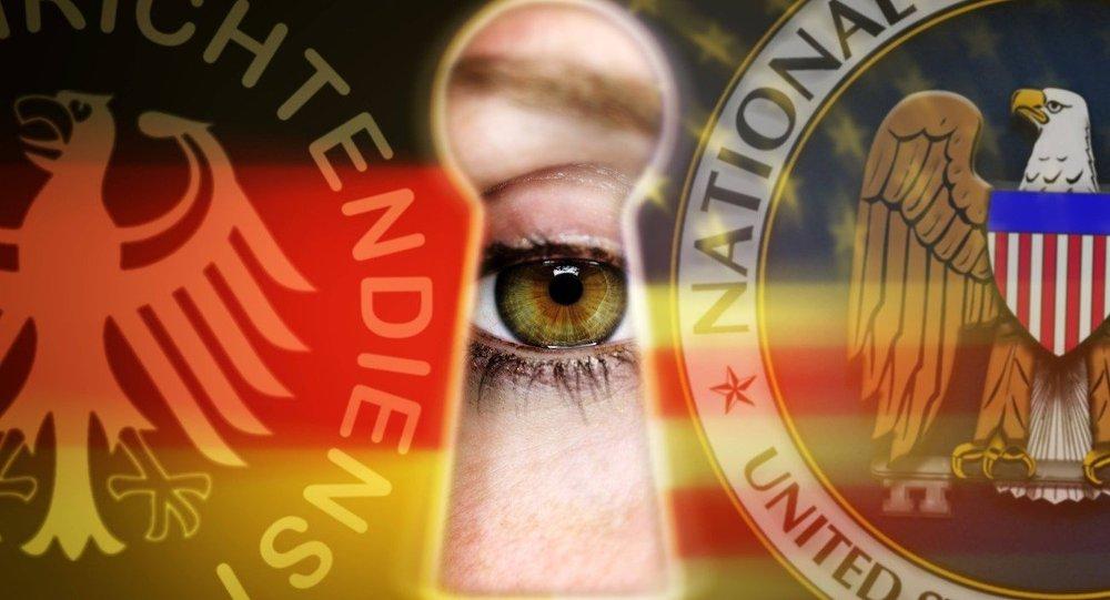Espionnage américano-allemand.
