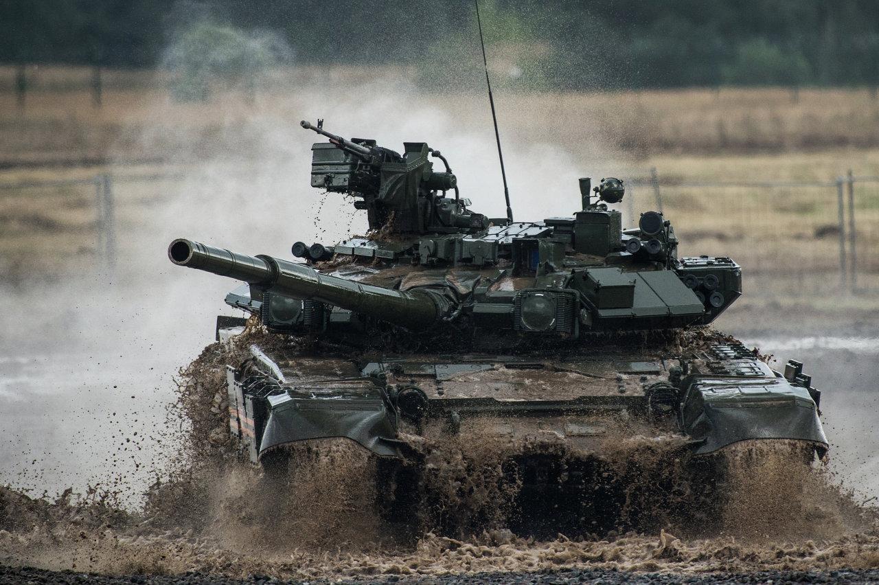 Le char T-90 Vladimir