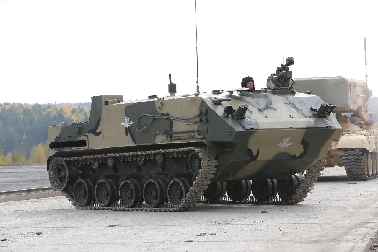 Le véhicule de transport de troupes BTR-MDM Rakouchka (Coquille)