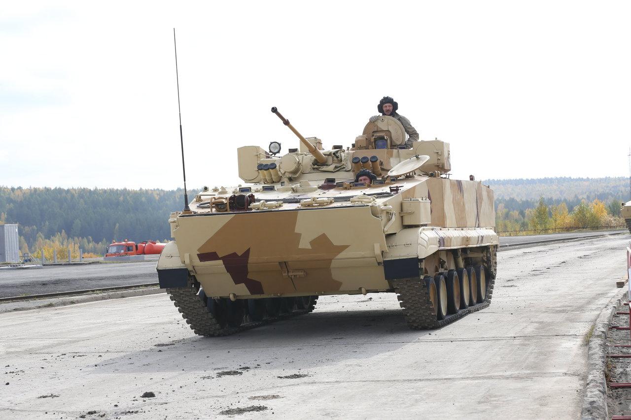 Le blindé BRM-3K Rys (Lynx)