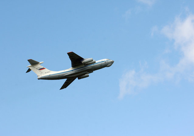 Un avion Iliouchine Il-76