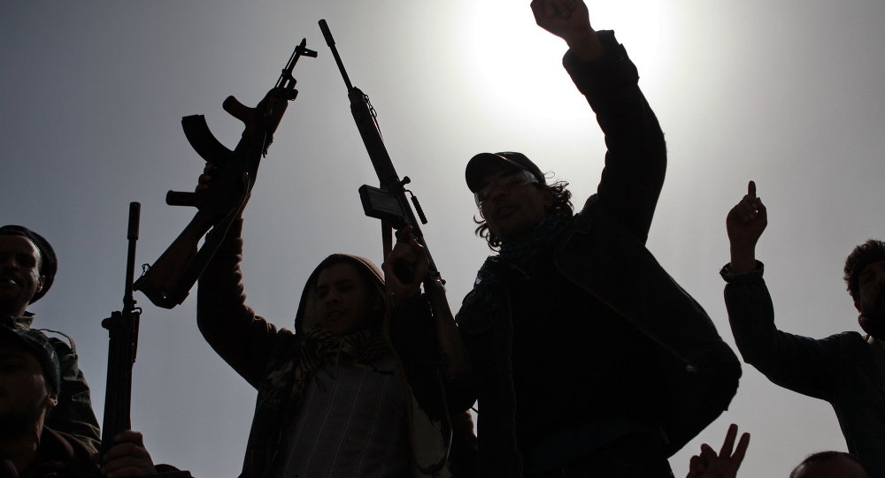 Des hommes armés de l'opposition libyenne