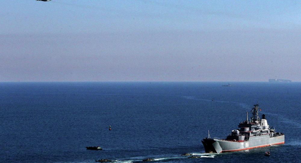 Тактические учения морской пехоты Тихоокеанского флота в Приморском крае