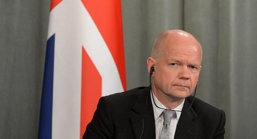 Ex-chef de la diplomatie britannique William Hague