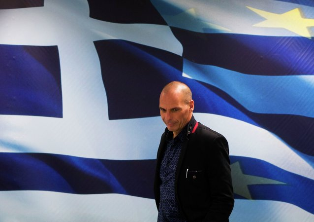 Le ministre des Finances Yanis Varoufakis