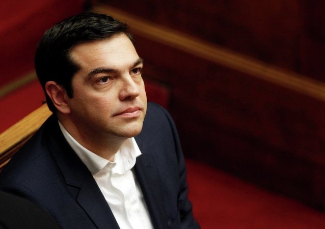 Alexis Tsipras. Archive photo