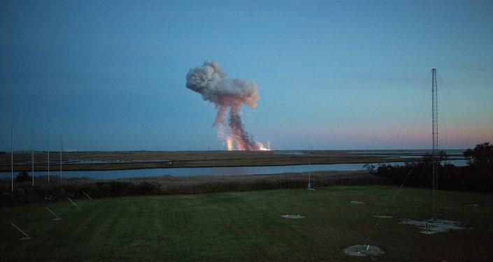 Explosion d'une fusée lancée vers l'ISS