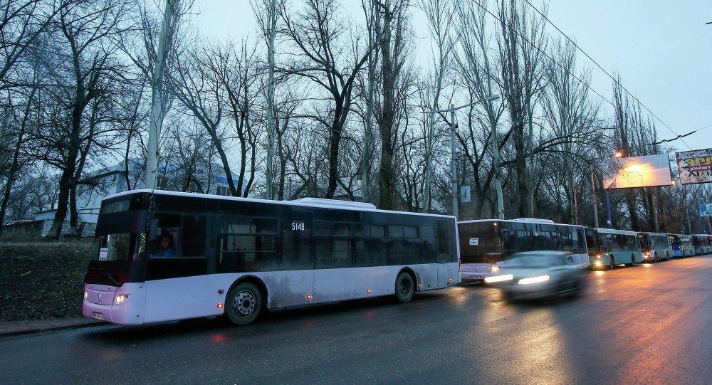 évacuation des habitants de Debaltsevo