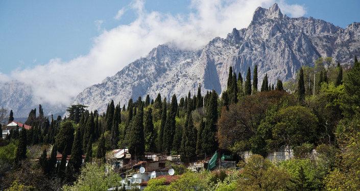 Le Mont Aï-Petri, en Crimée
