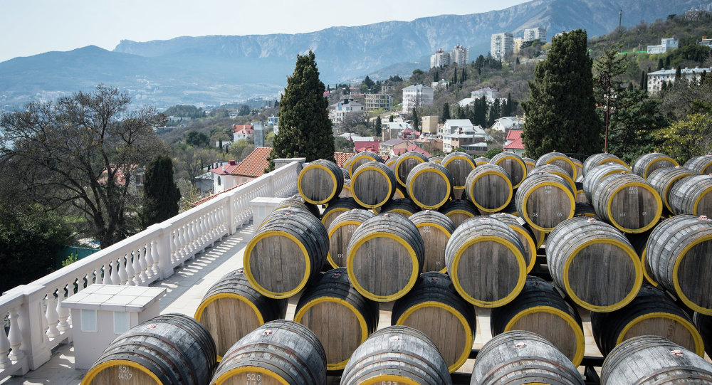 Usine vinicole Massandra de Crimée