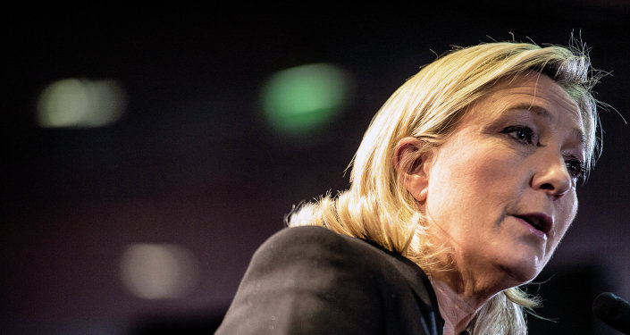 Marine Le Pen, la présidente du Front national