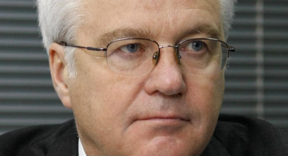Délégué permanent russe auprès des Nations unies Vitali Tchourkine