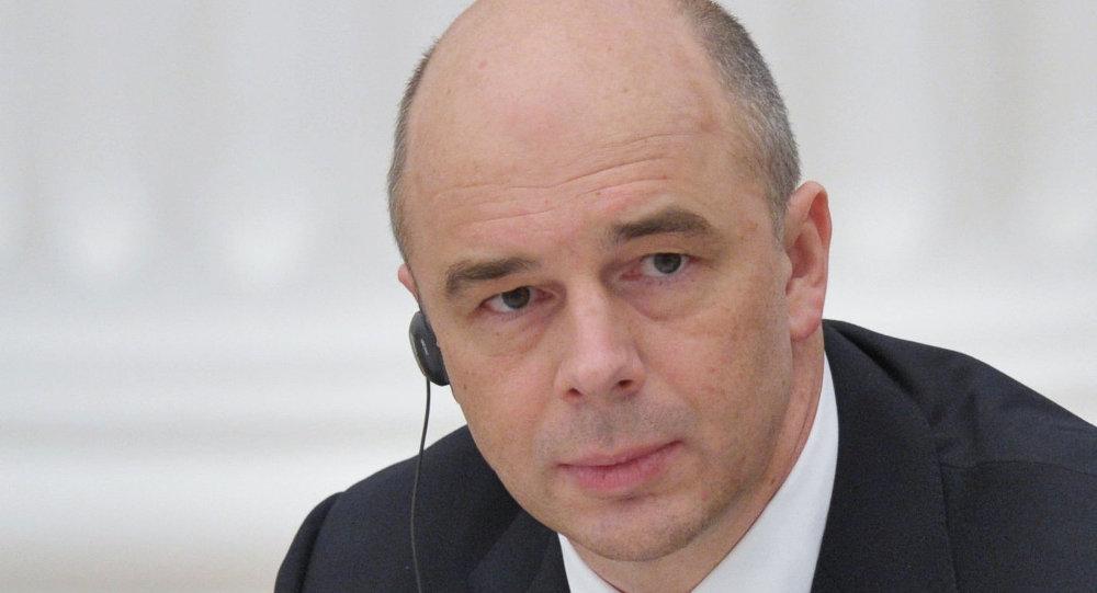 Le ministre russe des Finances Anton Silouanov