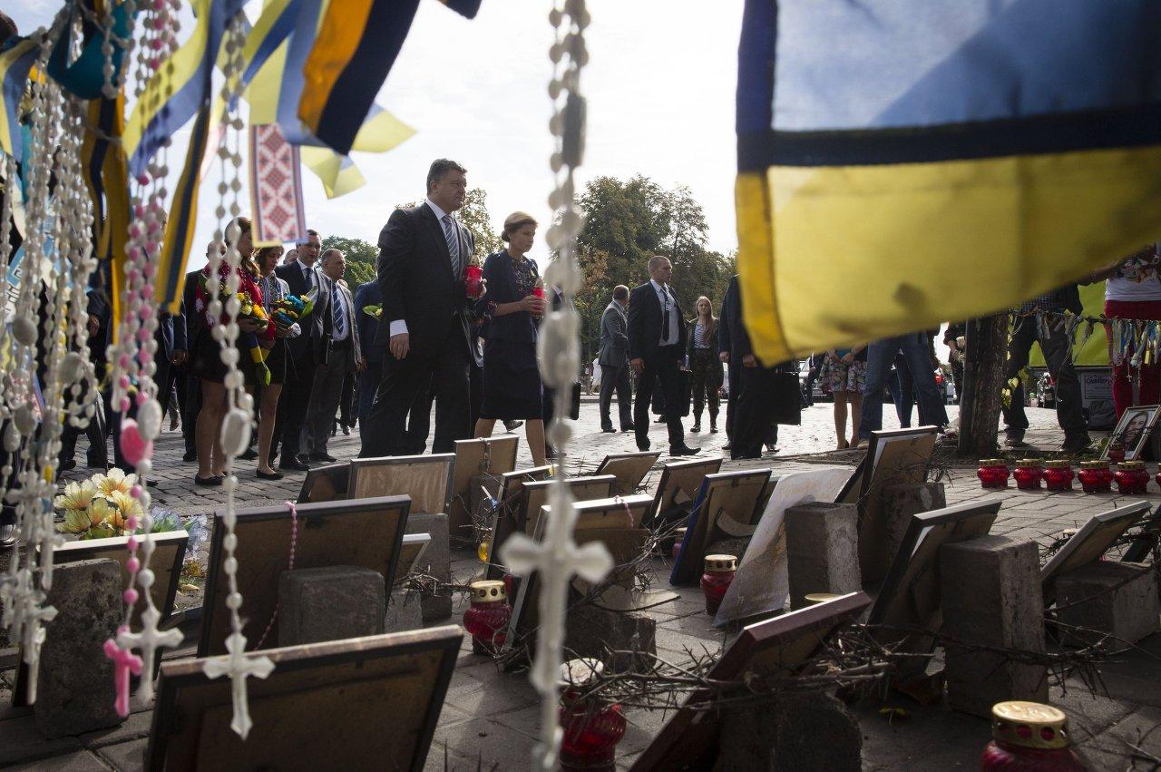 Ukraine: fête de l'Indépendance à Kiev