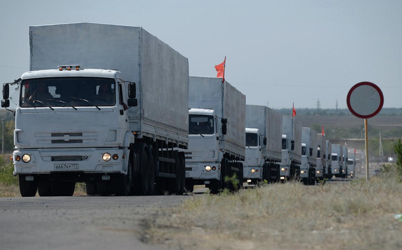 Aide humanitaire russe pour l'Ukraine