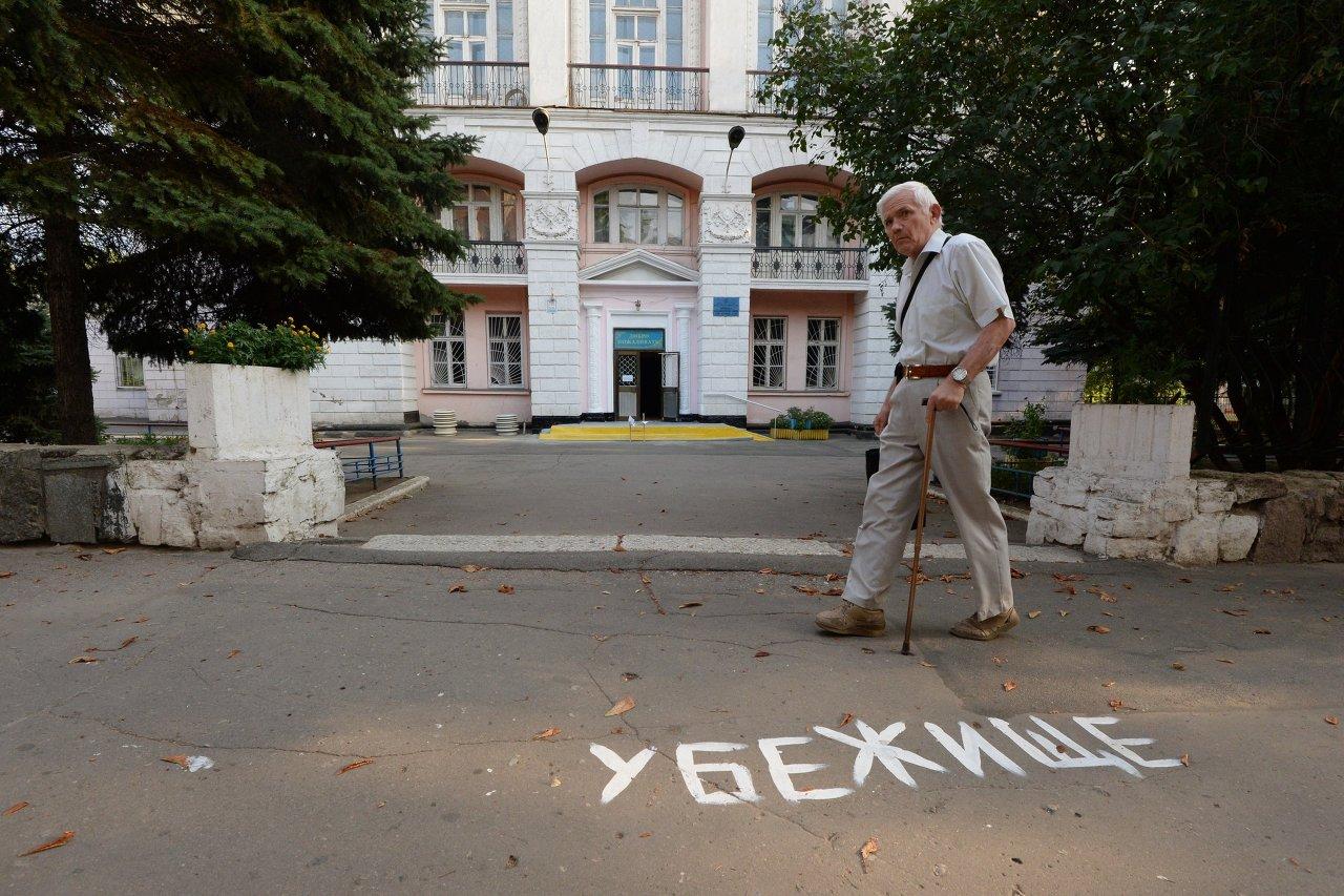 Donetsk pilonnée par l'artillerie ukrainienne