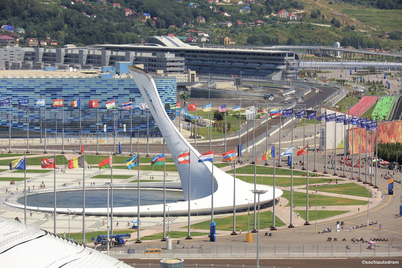 Le circuit de Formule 1 de Sotchi