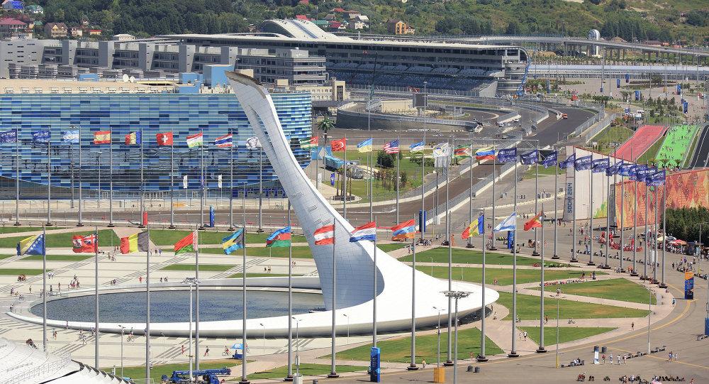Le circuit de Formule 1 à Sotchi