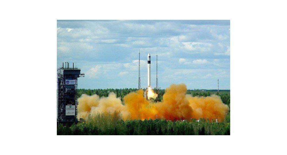 Lancement d'une fusée Rockot