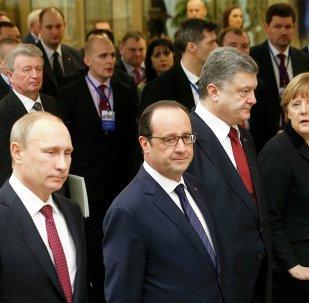 Négociations à Minsk