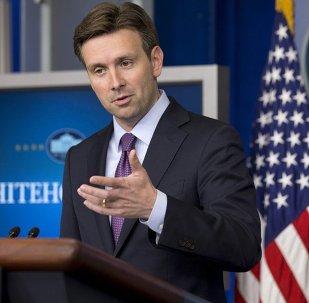 Josh Earnest, le porte-parole de la Maison Blanche