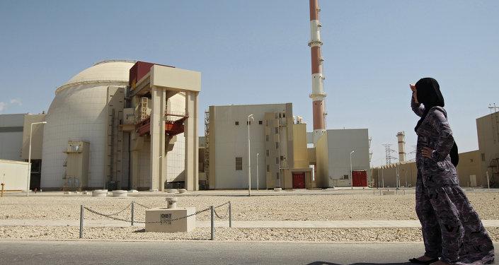Сentrale nucléaire de Bouchehr (Iran). Archive photo