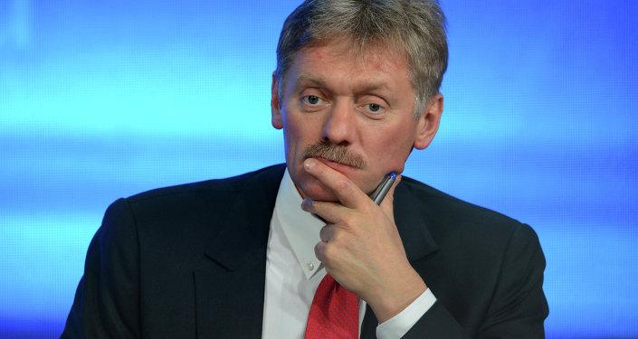 Le porte-parole du président russe Dmitri Peskov